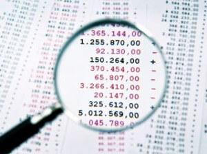 חשבונות של אדם מוגבל לשעבר שמבקש הלוואה