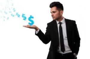 איש עסקים שזקוק להלוואה או מענק