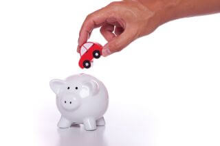 Saving for a new car